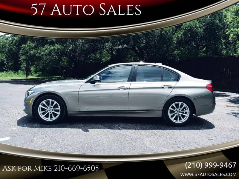 2017 BMW 3 Series for sale at 57 Auto Sales in San Antonio TX