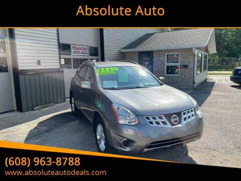 2013 Nissan Rogue for sale at Absolute Auto in Baraboo WI