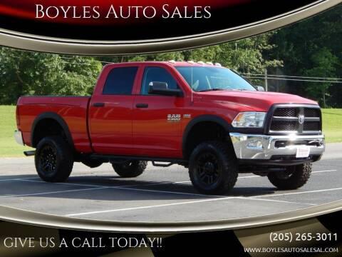2015 RAM Ram Pickup 2500 for sale at Boyles Auto Sales in Jasper AL