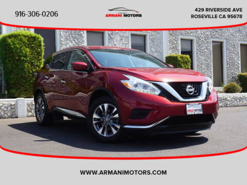 2017 Nissan Murano for sale at Armani Motors in Roseville CA