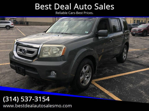 2009 Honda Pilot for sale at Best Deal Auto Sales in Saint Charles MO