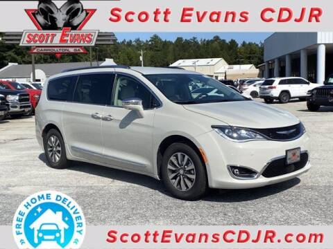 2020 Chrysler Pacifica Hybrid for sale at SCOTT EVANS CHRYSLER DODGE in Carrollton GA