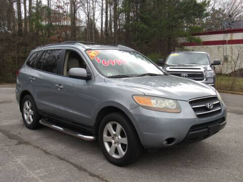 2007 Hyundai Santa Fe for sale at Discount Auto Sales in Pell City AL