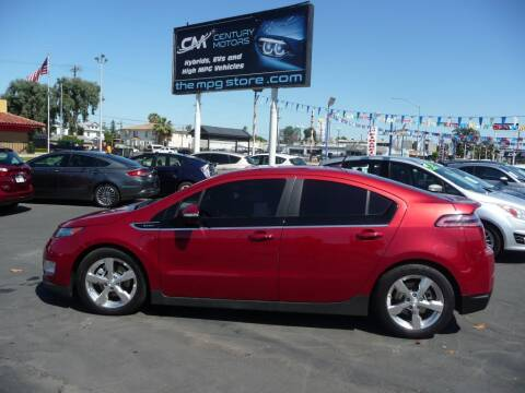 2014 Chevrolet Volt for sale at CENTURY MOTORS in Fresno CA