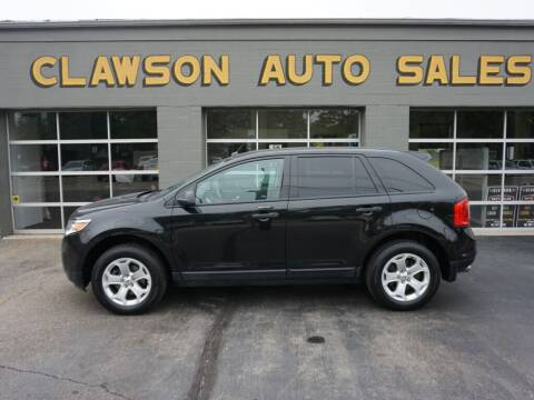 2013 Ford Edge for sale at Clawson Auto Sales in Clawson MI