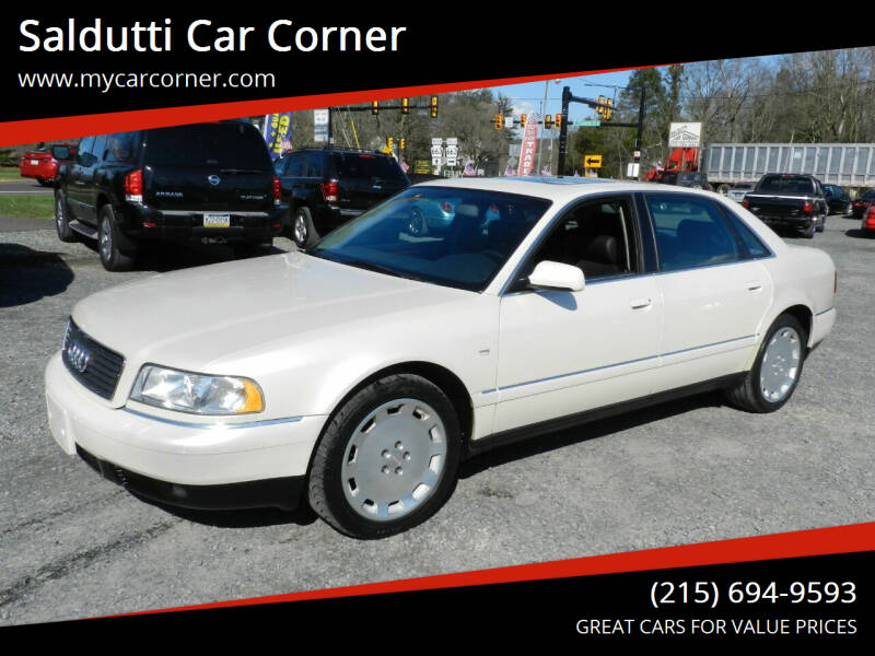 2001 Audi A8 L for sale at Saldutti Car Corner in Gilbertsville PA