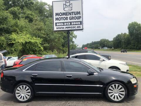2007 Audi A8 L for sale at Momentum Motor Group in Lancaster SC
