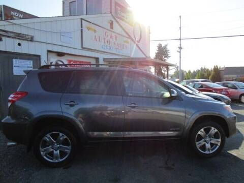 2010 Toyota RAV4 for sale at G&R Auto Sales in Lynnwood WA
