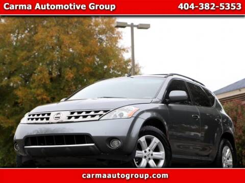 2007 Nissan Murano for sale at Carma Auto Group in Duluth GA