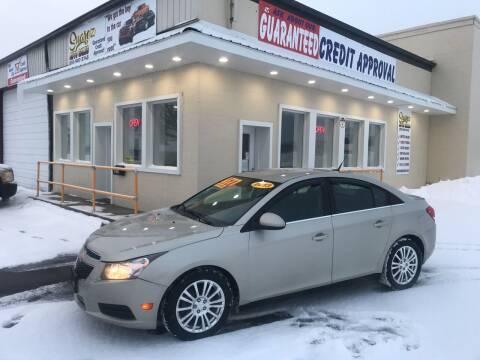 2013 Chevrolet Cruze for sale at Suarez Auto Sales in Port Huron MI