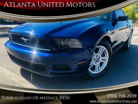 2014 Ford Mustang for sale at Atlanta United Motors in Jefferson GA