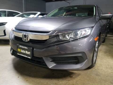 2018 Honda Civic for sale at 916 Auto Mart ONLY $399 DOWN!!!* in Sacramento CA
