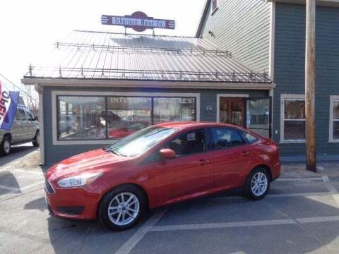 2018 Ford Focus for sale at SCHURMAN MOTOR COMPANY in Lancaster NH