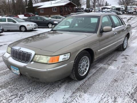 2002 Mercury Grand Marquis for sale at Sparkle Auto Sales in Maplewood MN