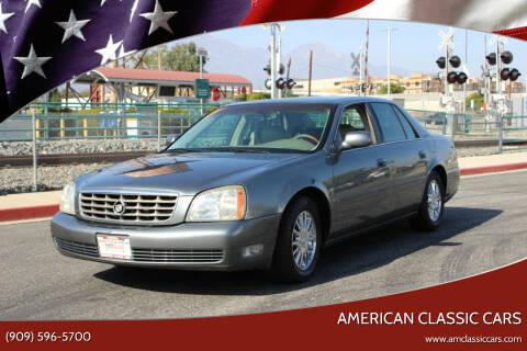 2005 Cadillac DeVille for sale at American Classic Cars in La Verne CA