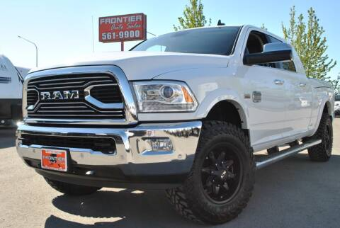 2018 RAM Ram Pickup 2500 for sale at Frontier Auto & RV Sales in Anchorage AK