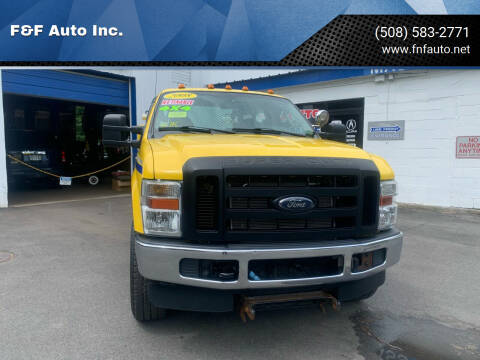 2008 Ford F-350 Super Duty for sale at F&F Auto Inc. in West Bridgewater MA