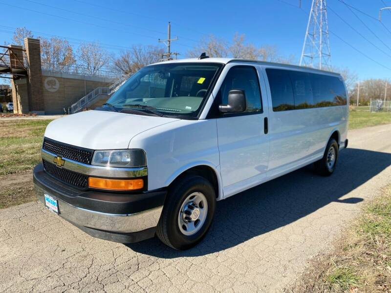 2018 Chevrolet Express Passenger for sale at Siglers Auto Center in Skokie IL