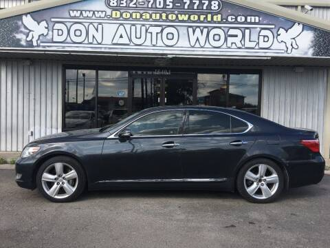 2010 Lexus LS 460 for sale at Don Auto World in Houston TX