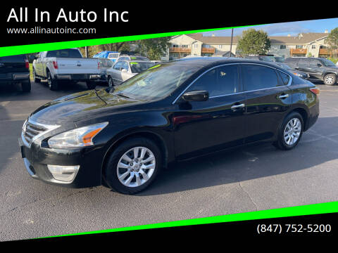 2015 Nissan Altima for sale at All In Auto Inc in Palatine IL