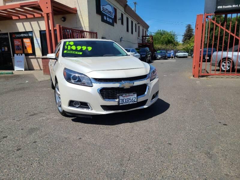 2014 Chevrolet Malibu for sale at AUTOMEX in Sacramento CA
