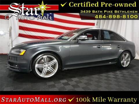 2015 Audi S4 for sale at STAR AUTO MALL 512 in Bethlehem PA