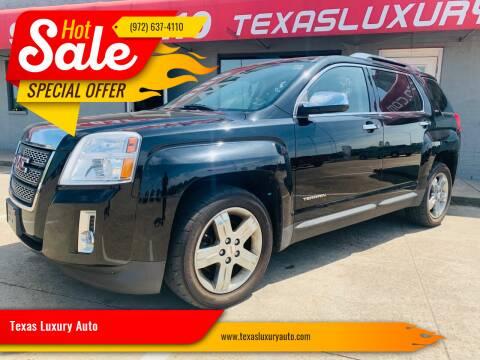 2013 GMC Terrain for sale at Texas Luxury Auto in Cedar Hill TX