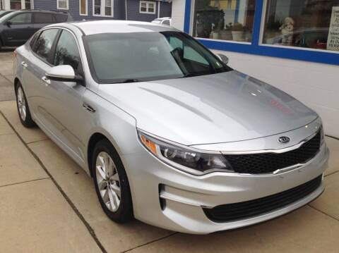 2017 Kia Optima for sale at Sindic Motors in Waukesha WI
