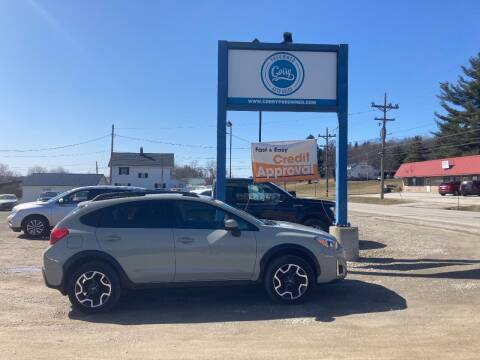 2016 Subaru Crosstrek for sale at Corry Pre Owned Auto Sales in Corry PA