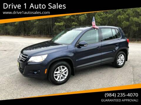 2011 Volkswagen Tiguan for sale at Drive 1 Auto Sales in Wake Forest NC