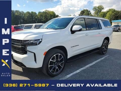 2021 Chevrolet Suburban for sale at Impex Auto Sales in Greensboro NC