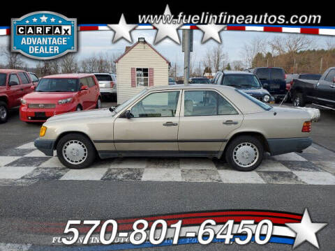 1989 Mercedes-Benz 260-Class for sale at FUELIN FINE AUTO SALES INC in Saylorsburg PA