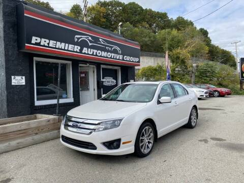 2010 Ford Fusion for sale at Premier Automotive Group in Pittsburgh PA