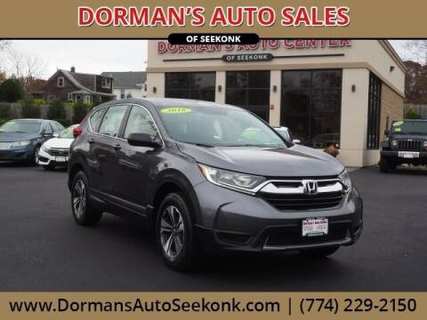 2018 Honda CR-V for sale at DORMANS AUTO CENTER OF SEEKONK in Seekonk MA