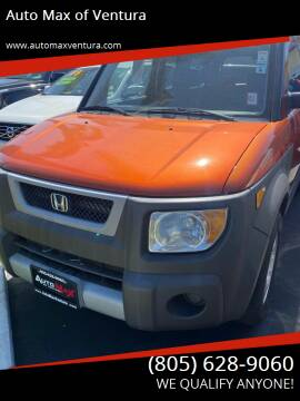 2005 Honda Element for sale at Auto Max of Ventura in Ventura CA