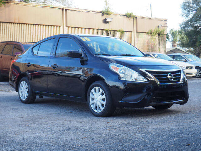 2018 Nissan Versa for sale at Winter Park Auto Mall in Orlando FL