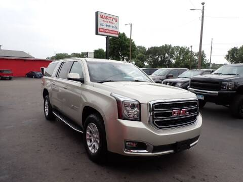 2017 GMC Yukon XL for sale at Marty's Auto Sales in Savage MN