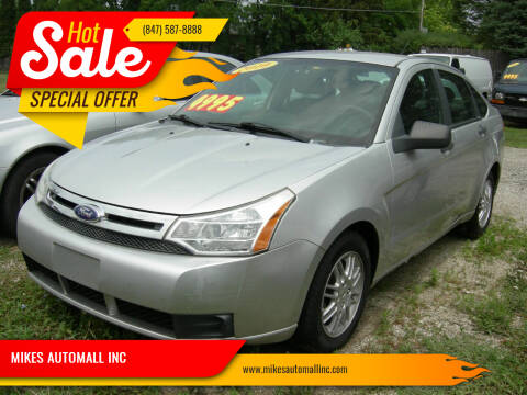 2010 Ford Focus for sale at MIKES AUTOMALL INC in Ingleside IL