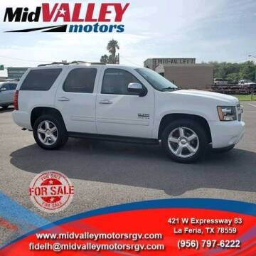 2010 Chevrolet Tahoe for sale at Mid Valley Motors in La Feria TX