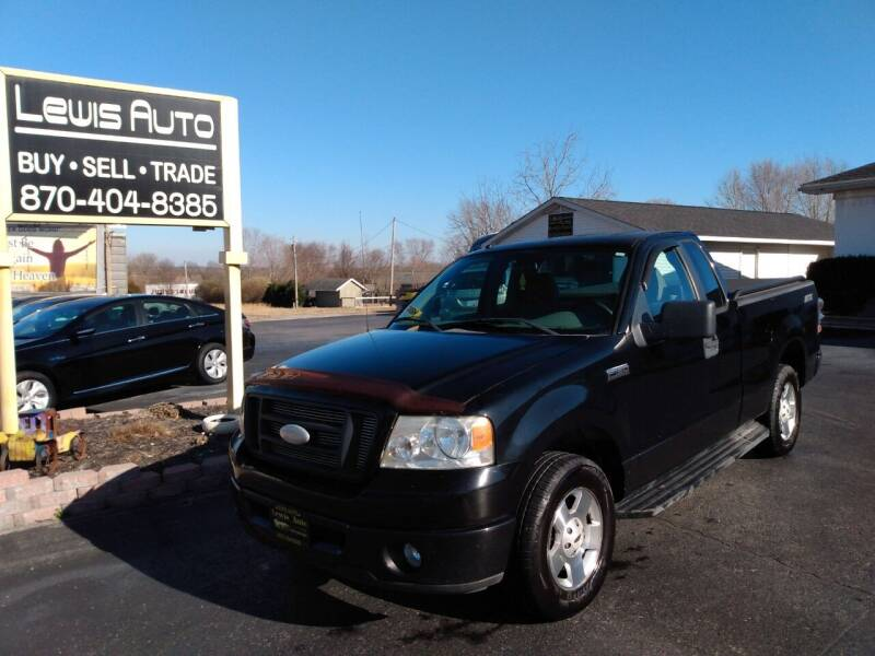 2007 Ford F-150 for sale at LEWIS AUTO in Mountain Home AR