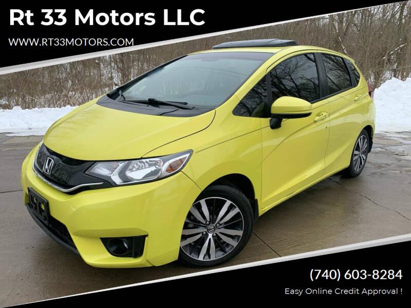 2016 Honda Fit for sale at Rt 33 Motors LLC in Rockbridge OH