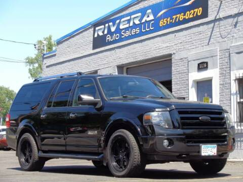 2007 Ford Expedition EL for sale at Rivera Auto Sales LLC in Saint Paul MN