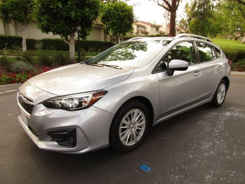2018 Subaru Impreza for sale at E MOTORCARS in Fullerton CA