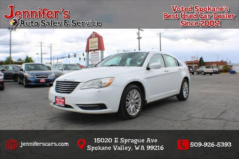 2013 Chrysler 200 for sale at Jennifer's Auto Sales in Spokane Valley WA