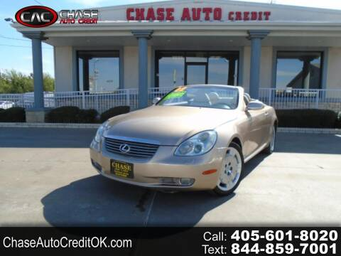 2002 Lexus SC 430 for sale at Chase Auto Credit in Oklahoma City OK