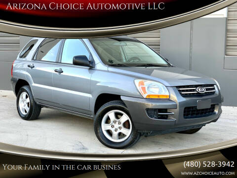 2007 Kia Sportage for sale at Arizona Choice Automotive LLC in Mesa AZ