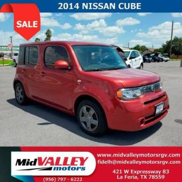 2014 Nissan cube for sale at Mid Valley Motors in La Feria TX