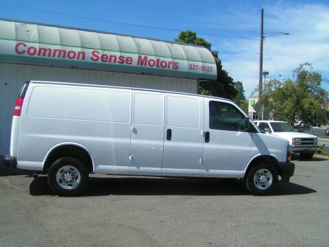 2020 Chevrolet Express Cargo for sale at Common Sense Motors in Spokane WA