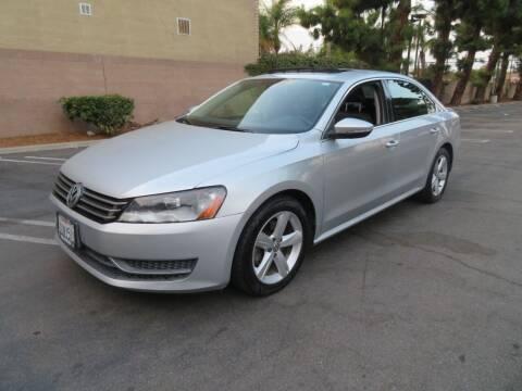 "2012 Volkswagen Passat for sale at SAMMY""S CARS in Bellflower CA"