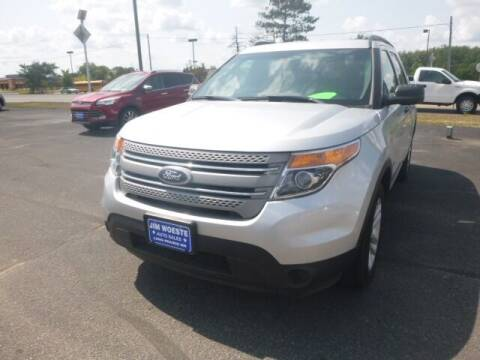 2015 Ford Explorer for sale at JIM WOESTE AUTO SALES & SVC in Long Prairie MN